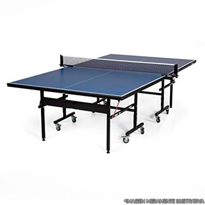 Conserto de Mesa de Ping Pong com Rodas Nova Friburgo - Mesa de Ping Pong Profissional