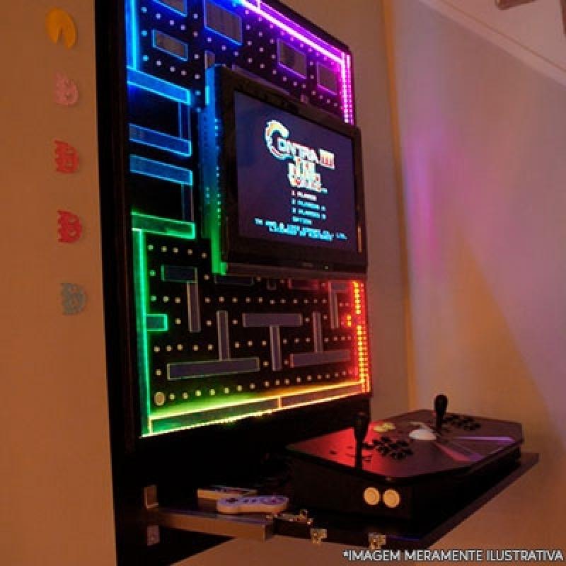 Fliperama Arcade Portátil Preço Duque de Caxias - Fliperama Arcade Portátil