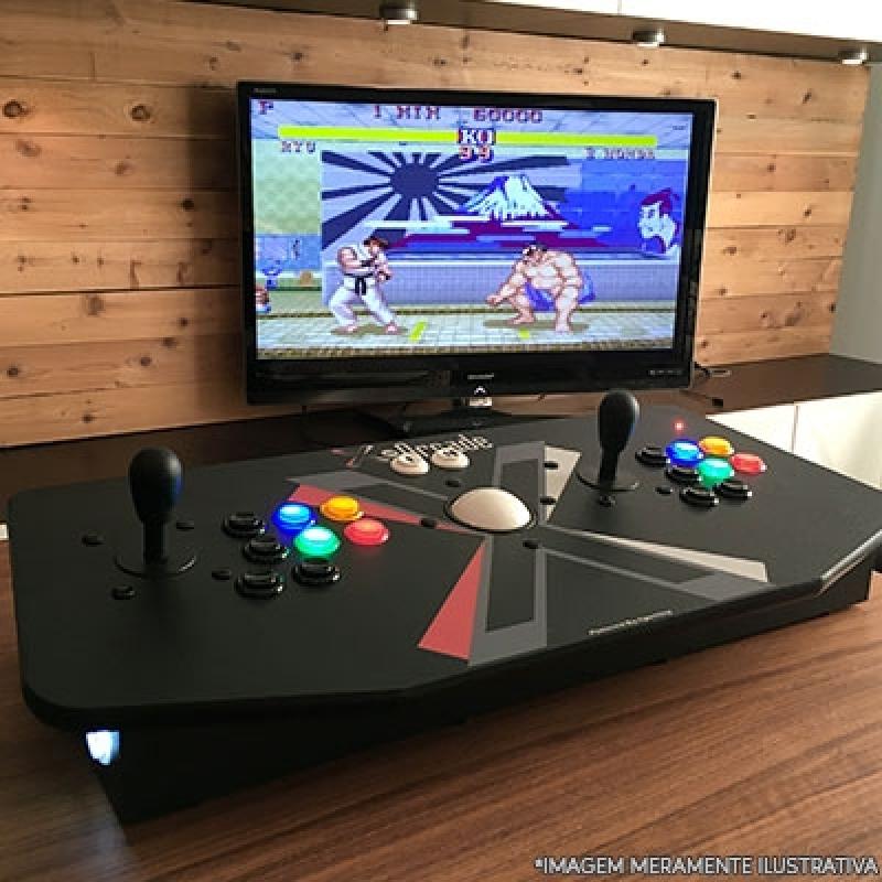 Fliperama Arcade Portátil Moema - Arcade Fliperama Portátil