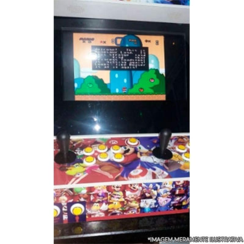 Fliperama Arcade Preço Santa Cruz - Fliperama Caseiro