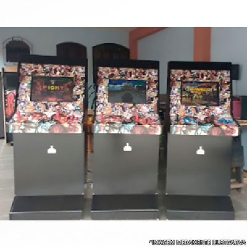 Fliperama Arcade Grajaú - Fliperama Caseiro