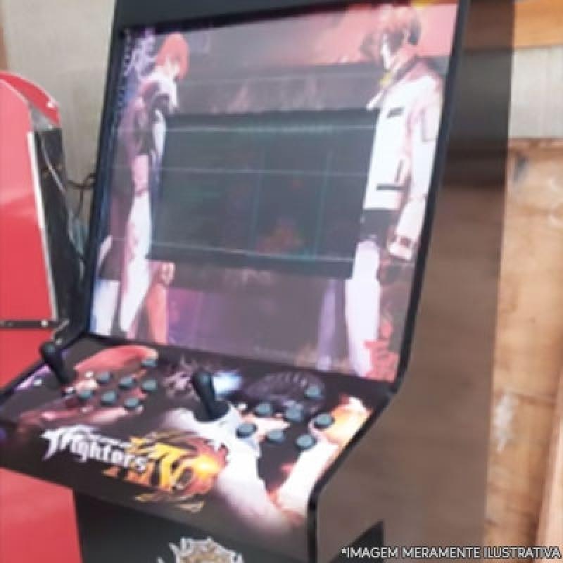 Fliperama de Bar Preço Biritiba Mirim - Fliperama Arcade Portátil
