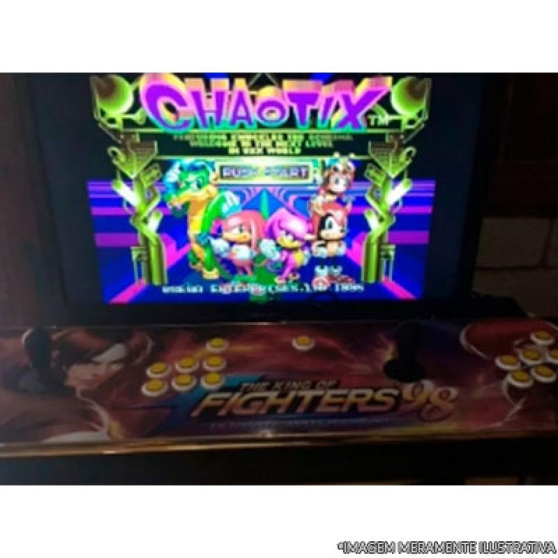Fliperamas Arcade Portáteis São Gonçalo - Fliperama Multijogos