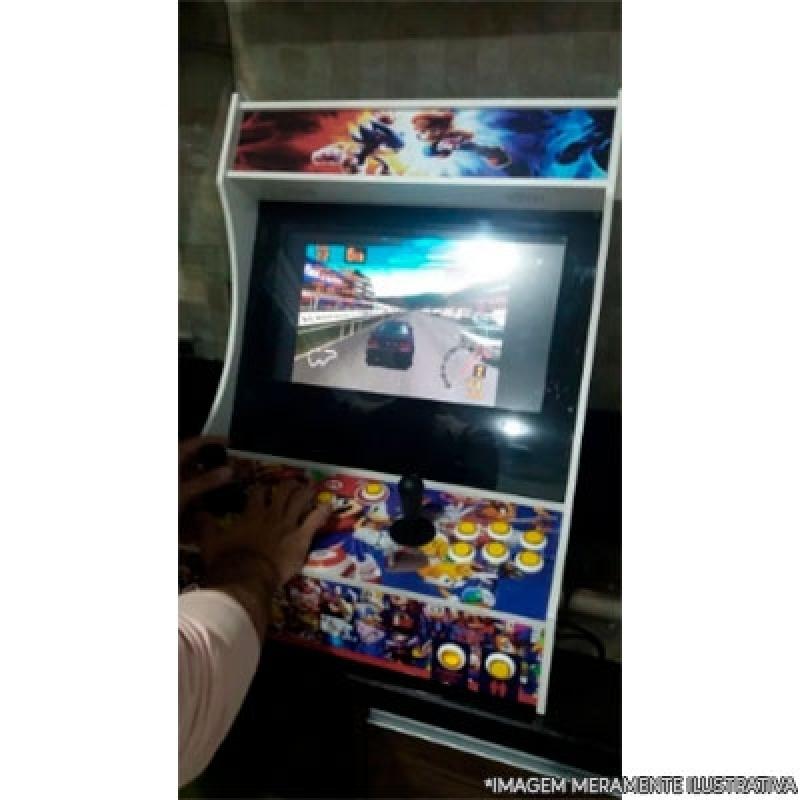Manutenção de Fliperama Arcade ABC Paulista - Fliperama