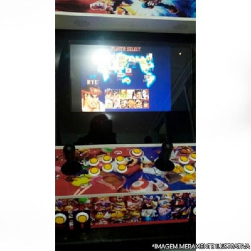 Manutenção de Fliperama Jandira - Fliperama Arcade Portátil