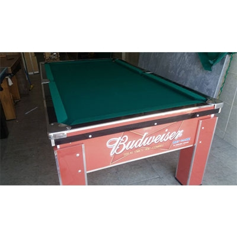 Mesa de Bilhar para Bar Valor Planalto Paulista - Mesa de Bilhar para Bar