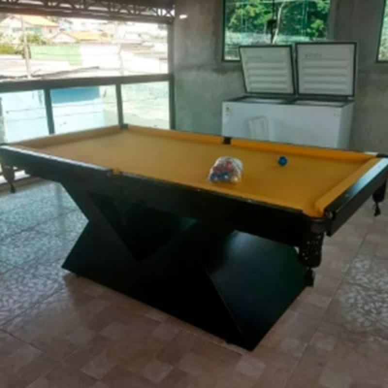 Mesa de Bilhar Jardim São Luiz - Mesa de Bilhar para Bar