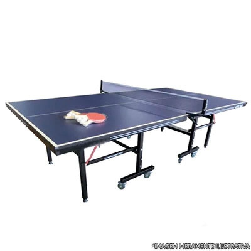 Mesa de Ping Pong Completa Orçar São Mateus - Mesa de Ping Pong Profissional