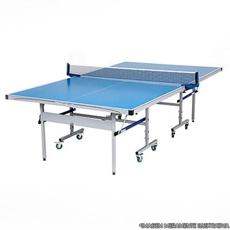 Mesa de Ping Pong Grande Orçar Duque de Caxias - Mesa de Ping Pong Pequena