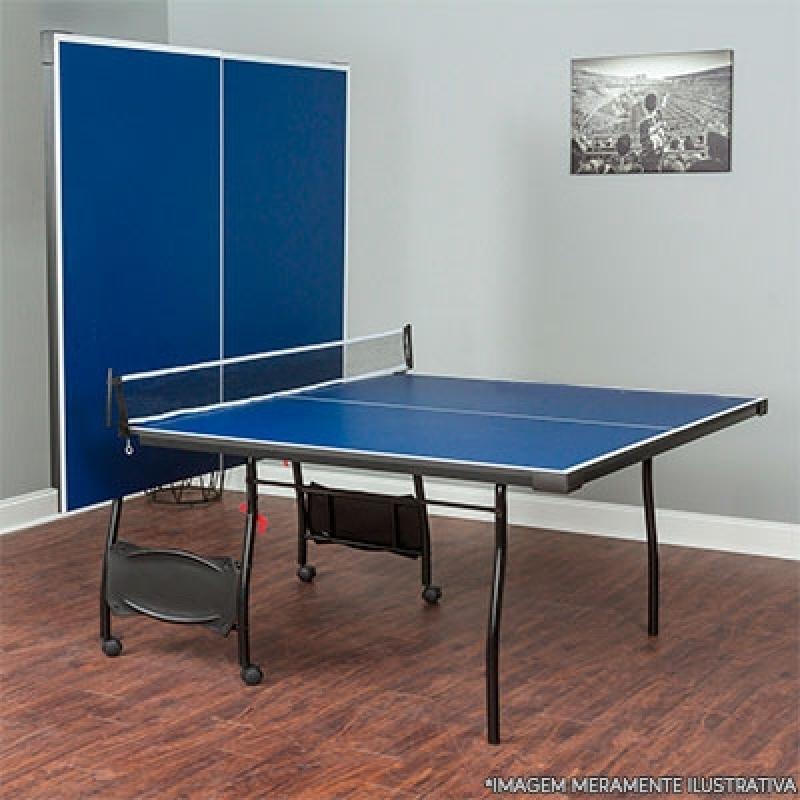 Mesa de Ping Pong Oficial Orçar Jardim Europa - Mesa de Ping Pong Pequena