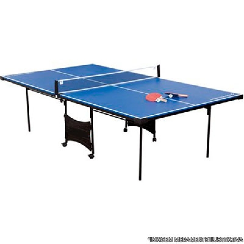 Mesa Profissional de Ping Pong Jundiaí - Mesa de Ping Pong Profissional
