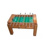 fábrica de mesa de pebolim madeira maçiça Santana de Parnaíba