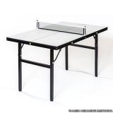 mesa de ping pong pequena