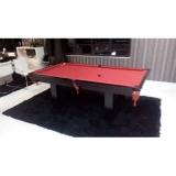 mesas de bilhar pretas Parque do Carmo