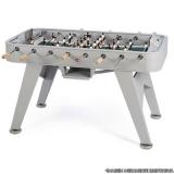 mesa de pebolim com ferro embutido